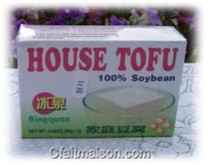 tofu prix