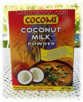 lait de noix de coco en poudre