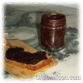P tes tartiner v g tales faites maison imitation de nutella sans produits laitiers - Pate a tartiner maison bio ...