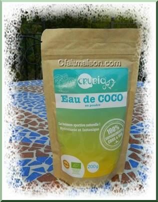poudre d'eau de noix de coco