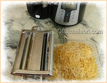 Recettes de pates fraiches sans gluten - Pate fraiche au robot ...