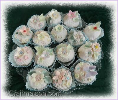 Les cupcakes les collerettes ou cupcake wrappers - Fabriquer poche a douille ...