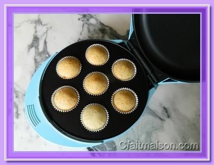Machine à cupcake recette