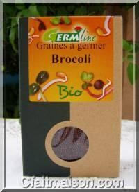 Paquet de graines de chou brocoli bio
