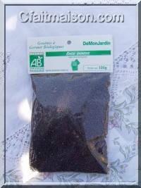 Paquet de graines de chou chinois bio