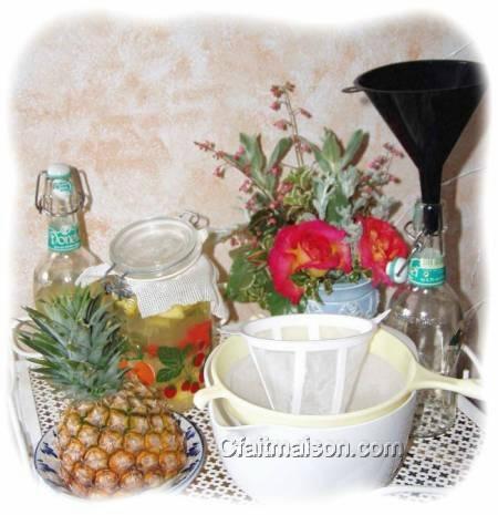 matériel pour faire du kefir à la maison