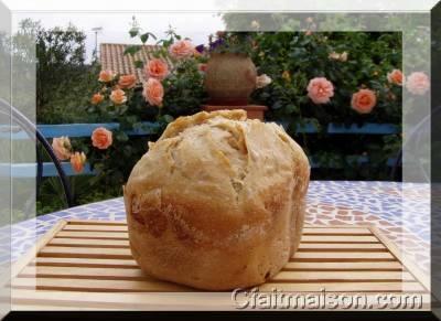 pain au levain de kéfir