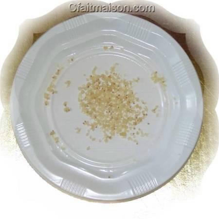 grains déshydratés