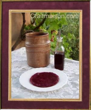 Vinaigre de kombucha au vin rouge