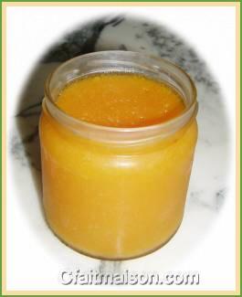confiture abricot a l'agar agar