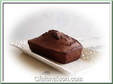 Cake au chocolat.
