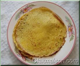 pancake sans gluten banane avoine