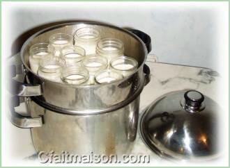 Cuisson douce la vapeur avec le vitaliseur de marion - Fabrication de yaourt maison sans yaourtiere ...