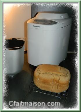Faire du pain maison sans gluten la machine pain m p des recettes - Pain de mie machine a pain ...