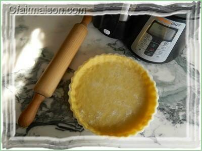 P tes tarte sans gluten et sans produit laitier et fonds de tartes - Pate brisee au robot kenwood ...