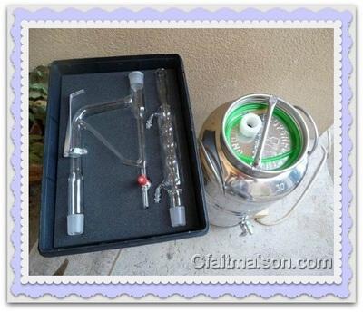 Kit d extraction pour huiles essentielles