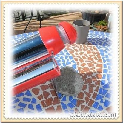 bouilloire solaire ou chauffe eau solaire portable pour le th ou le caf. Black Bedroom Furniture Sets. Home Design Ideas